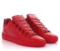 Sneaker Arena Low Leder Crinkled