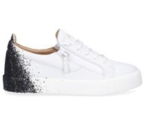 Sneaker low FRANKIE Kalbsleder Logo