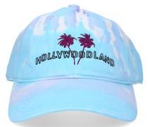 Snapback Cap HOLLYWOODLAND Baumwolle Stickerei lila