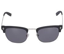 Sonnenbrille D-Frame 043-01 Metall Acetat schwarz