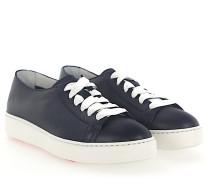Sneaker 53853 Leder dunkel