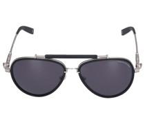 Sonnenbrille Aviator 001-10 Metall silber