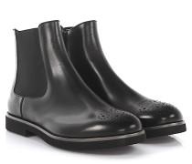AGL Stiefeletten Boots Leder Lyra-Lochung extralight