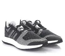 Sneaker Pureboost Stoff Mesh schwarz weiss