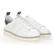Sneaker STARTER Leder weiss bordeaux