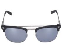 Sonnenbrille D-Frame 127012 Metall Acetat silber