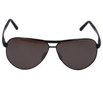 Sonnenbrille Aviator 8649 J Titan schwarz