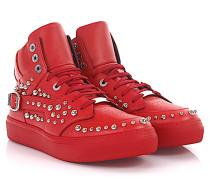Sneaker High Ruben Leder Nieten