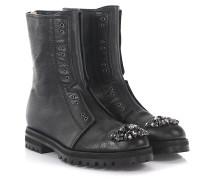Stiefeletten Boots Hatcher Leder mit Kristallen