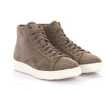 Sneaker High 60124 Veloursleder Lammfell
