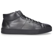 Sneaker high 20851 Kalbsleder dunkel