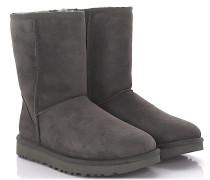 Stiefeletten Boots Classic Short Veloursleder Lammfell