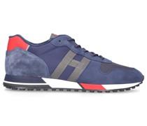 Sneaker low H3830 Veloursleder