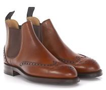 Chelsea Boots NEWBURY Budapester Leder Scotchgrain Goodyear Welted