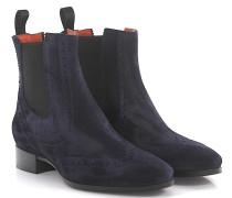 Stiefeletten Boots Budapester 55204 Veloursleder