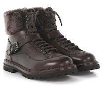 Stiefeletten Boots 56503 Leder Lammfell