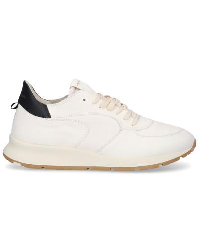 Sneaker low MONTECARLO Kalbsleder Logo -kombi