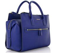 Handtasche Twin Zip Leder