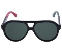 Sonnenbrille Aviator 159S Acetat schwarz