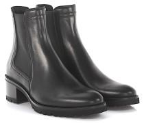 Stiefeletten Boots 7611 Leder