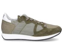 Sneaker low MONACO Logo Patch olive