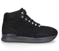 Sneaker high H222 Ziegenleder Glitzer