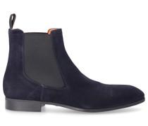 Chelsea Boots 134143 Veloursleder blau