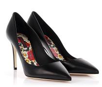 Dolce & Gabbana Pumps Decollete Leder schwarz