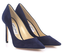 Pumps Romy 100 Veloursleder navy