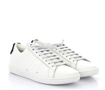 Sneaker Low Signature Leder weiss