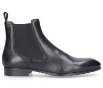 Chelsea Boots 13414 Kalbsleder Logo