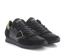 Sneaker TROPEZ LOW Leder Veloursleder