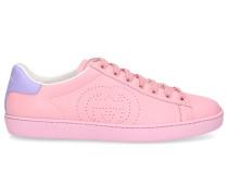 Sneaker low ACE Kalbsleder Logo rosa