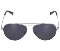 Sonnenbrille Aviator 044115 Metall silber