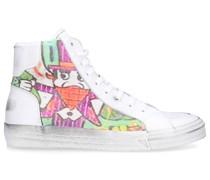 Sneaker high ALEC Kalbsleder