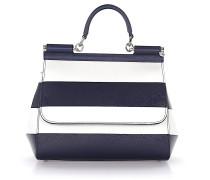 Handtasche Schultertasche Sicilya Leder weiss