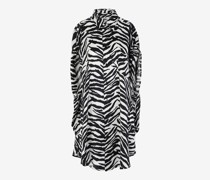 Hemdblusenkleid Circle mit Zebra-Print
