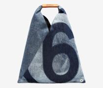 Kleine Japanese Bag aus Denim