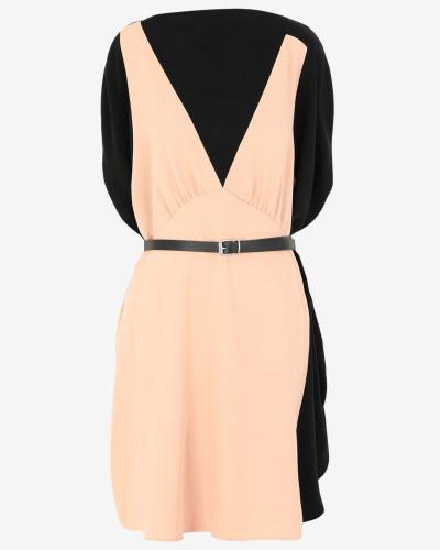 Kleid Mit Trompe L'oeil-effekt