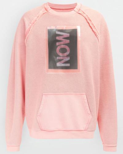 Sweatshirt Rosa Baumwolle