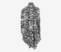 Kleid Circle mit Zebra-Print