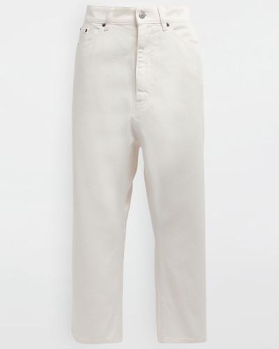Hose Weiß Baumwolle