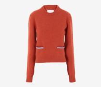 Pullover aus Filzwolle