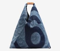 Mittelgroße Japanese Bag aus Denim
