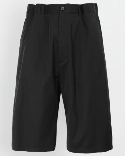 Bermudashorts Schwarz Baumwolle