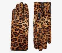 Handschuhe aus synthetischem Ponyfell