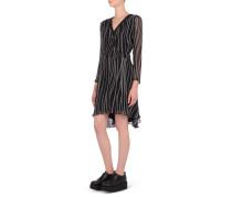 Bedrucktes Kleid mit Reißverschluss