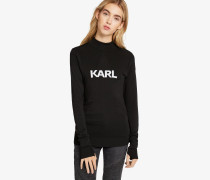 Ikonik Karl Sweatshirt mit enger Passform