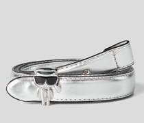 K/ikonik Metallic-gürtel mit Dornschnalle