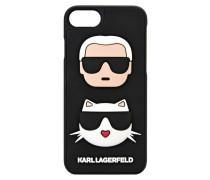 iPhone 7 Case mit Karl und Choupette in 3D